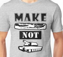 Make Bacon Not War Iconic Tshirt Unisex T-Shirt