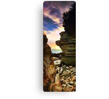 Sandstone Rocks at Hargraves Canvas Print