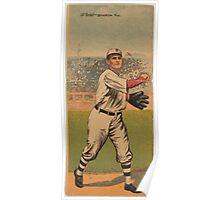 Benjamin K Edwards Collection Zack D Wheat William Bergen Brooklyn Dodgers baseball card portrait Poster