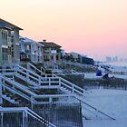 On the Beach - Carrollian beach Florida by KSKphotography