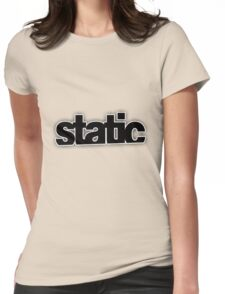 Static Womens Fitted T-Shirt