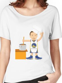 Chef Curry Widda Pot Boi! Women's Relaxed Fit T-Shirt
