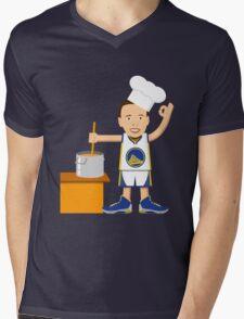 Chef Curry Widda Pot Boi! Mens V-Neck T-Shirt