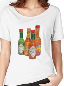 many hot sauces Women's Relaxed Fit T-Shirt