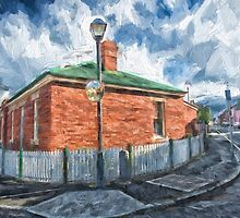 Red Brick House in Hobart by JohnKarmouche