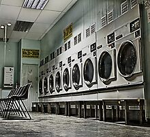 Laundrette chairs by David Thomas