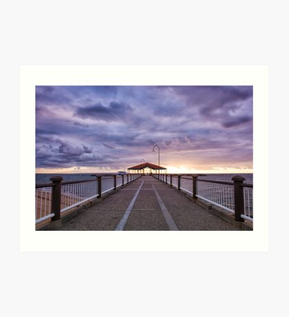 Redcliffe Jetty by Morning Art Print