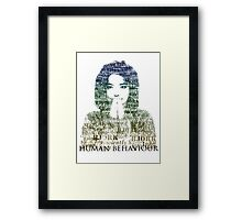 Human Behaviour Framed Print