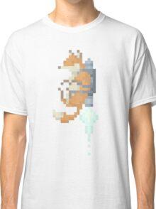 Fox Jetpack Pixel Art Classic T-Shirt