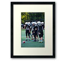 Pee Wee Black D Framed Print