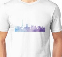 Paris watercolor Unisex T-Shirt