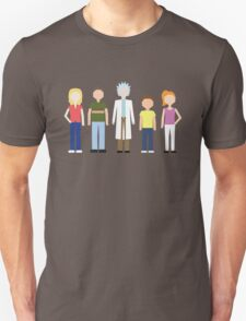 Rick & Morty: The Smith Family T-Shirt
