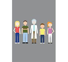 Rick & Morty: The Smith Family Photographic Print