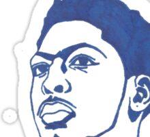 Anthony Davis Sharpie Sketch Sticker