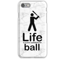 Ball v Life - Marble iPhone Case/Skin