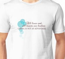 Mycroft's Philosophy Unisex T-Shirt
