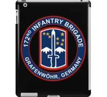 172nd Infantry Grafenwohr iPad Case/Skin