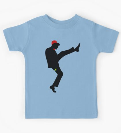 The [11th] Doctor of Silly Walks Kids Tee