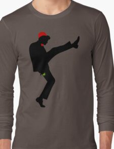 The [11th] Doctor of Silly Walks Long Sleeve T-Shirt