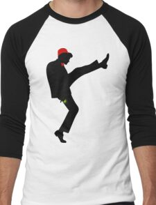 The [11th] Doctor of Silly Walks Men's Baseball ¾ T-Shirt