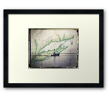Sport Fishing Boat Framed Print