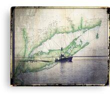 Sport Fishing Boat Canvas Print
