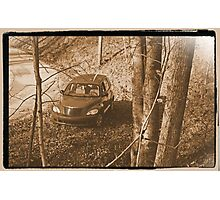 Along Time Warp Road Photographic Print