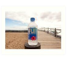 Fiji Water Art Print