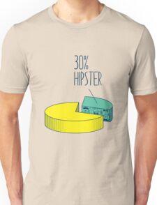 30% Hipster Unisex T-Shirt