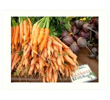 Root Vegetables Art Print