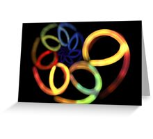 Spiral Nine Greeting Card