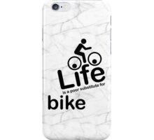 Bike v Life - Marble iPhone Case/Skin