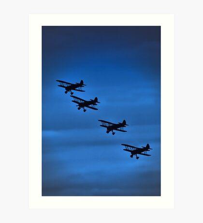 Bi-Planes Art Print