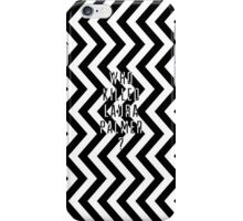 Who Killed Laura Palmer? iPhone Case/Skin