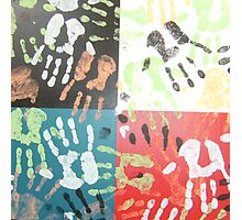 hands on experience Photographic Print