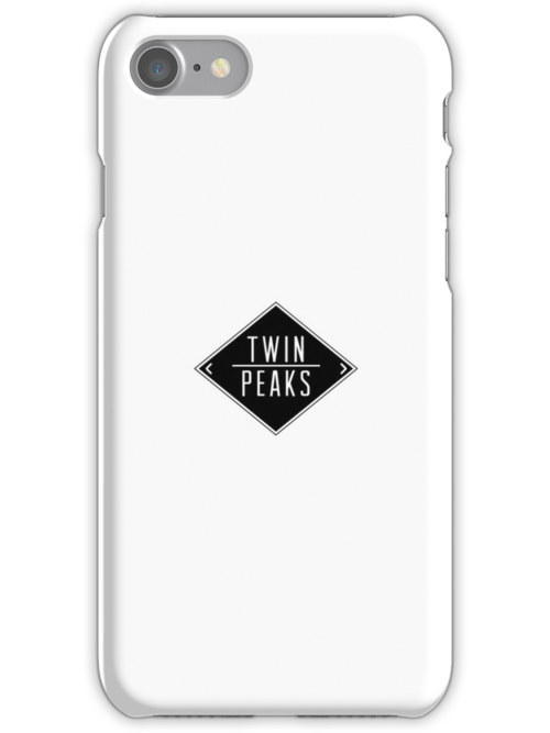 Welcome To Twin Peaks (White) by everyday09