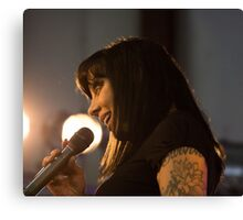 Bif Naked At The West Coast Women's Show Canvas Print