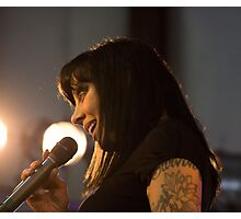 Bif Naked At The West Coast Women's Show Photographic Print