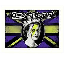 Queen Bitch Art Print