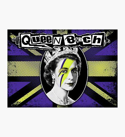 Queen Bitch Photographic Print