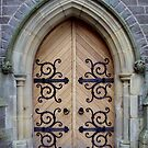 A Lanark Church Door by biddumy