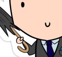 Mycroft & The Beloved Umbrella  Sticker