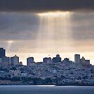 Sun Rays on San Francisco by Gregory Ballos | gregoryballosphoto.com