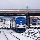Amtrak approach by James Watkins