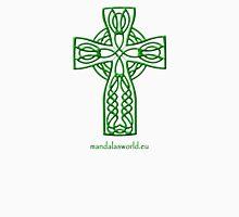 Celtic Cross n4 Green Unisex T-Shirt
