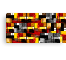 Abstract Rectangles #4 Canvas Print