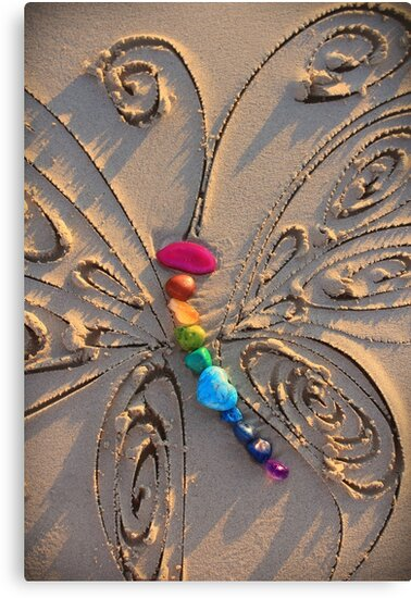 The Rainbow Stone Healing Butterfly by CarlyMarie