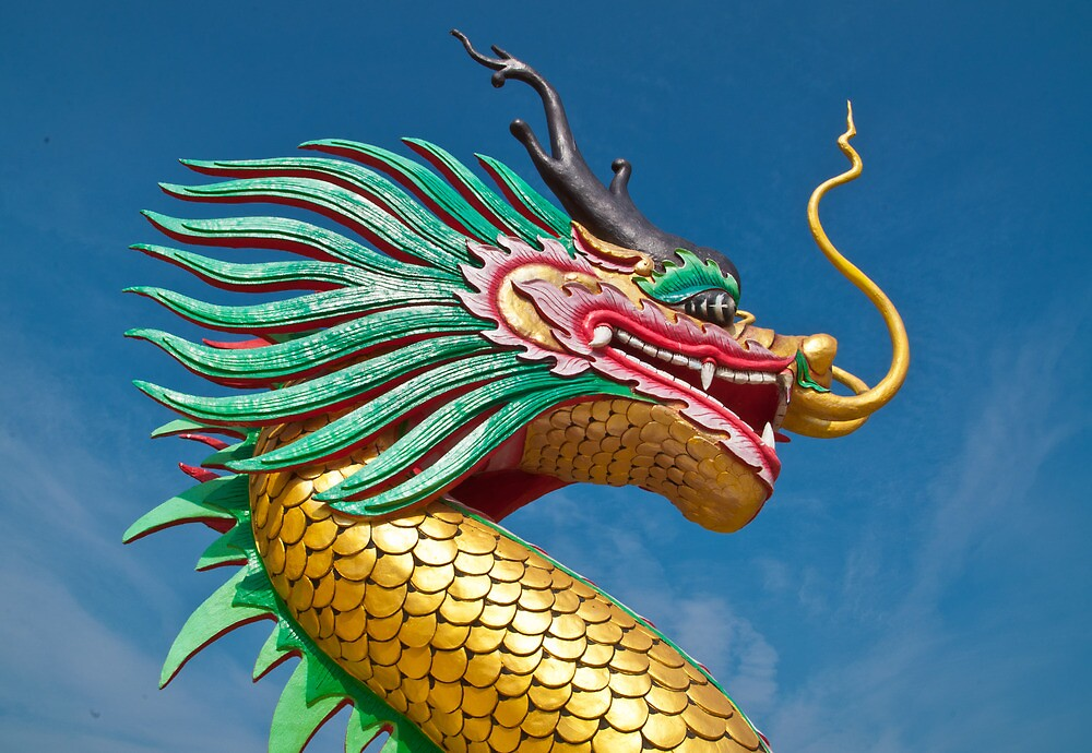 china dragon head by goodmaker