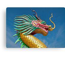 china dragon head Canvas Print
