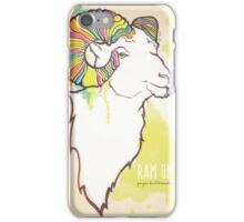 Ram On iPhone Case/Skin